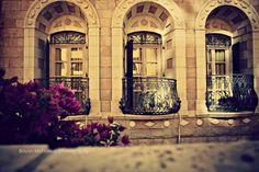 قصر جاسر، بيت لحم، فلسطين Jacir Palace, Bethlehem, Palestine Palacio de Gaser, Belén, Palestina