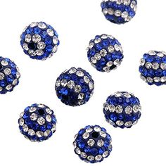 Pack Good Taste Jewelry & Accessories Supply 6mm Ci-trine Top Quality Czech Crystal Rhinestones Pave Clay Round Disco Ball Spacer Beads For Jewelry 100pcs