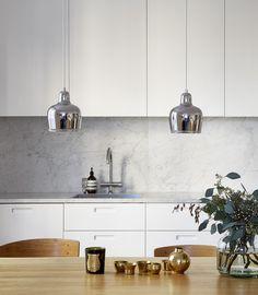 Beautiful living kitchen - via cocolapinedesign.com