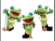 양말 손인형 - 개구리 -만들기 Sock Puppet -Frog