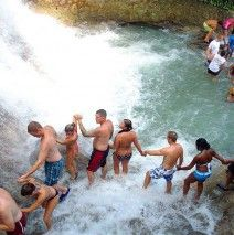 Dunn River Falls - Jamaica. Best. Trip. Ever.