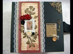 """""""Memory"""" Scrapbook Photo Album"""