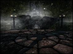Blackmoor (Lokii Violet) ( g) Explore, Night, City, Cities, Exploring