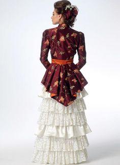 Mccalls Sewing Patterns, Dress Patterns, Line Jackets, Jackets For Women, Steampunk Jacket, Bustle Skirt, Wedding Jacket, Dress Wedding, Blouse And Skirt
