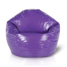 Junior Bean Bag Chair Color: Grape - http://delanico.com/bean-bag-chairs/junior-bean-bag-chair-color-grape-589271678/