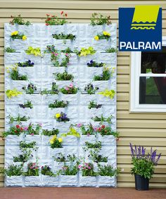 Palram PlantScape Stone Vertical Garden Features - Includes internal drip…