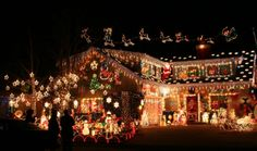 Extreme Christmas lights & outside decorations but mine is going to look cool because im going to put like a light show for people to watch