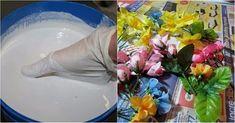 Kúpila som si umelé kvety a pripravila sadru. Podľa návodu som vytvorila tak krásnu vec, že ju dávam kamoškám na narodeniny | Báječné Ženy