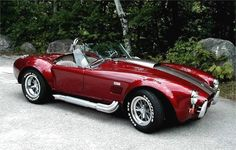 427 Cobra. . . . There's nothing like the roar as the leg pipes flame out.