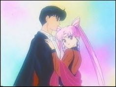Sailor Moon - black lady and Darien