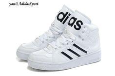 Adidas Originals by Jeremy Scott Instinct Altos tops Zapatillas Blanco Negro Madrid Precios
