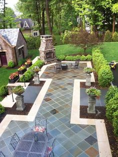 Stone Patio Ideas- Everybody wants to change their home a little from time to time. And I think that it is a good idea to start from the outdoor living spaces. You may have a beautiful garden, a beautiful swimming pool, etc. Every of those things may come with a simple wooden deck and that is fine, but you can always innovate and create something completely new and that your friends and relatives do not have in their homes: what do you think of replacing simple wooden decks by beautiful…