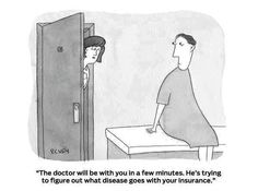 Sounds about right medical billing, medical humor, nurse humor, pharmacy humor, healthcare Pharmacy Humor, Medical Humor, Nurse Humor, Medical Billing, Funny Medical, Medical Coding, Medical School, No Kidding, New Yorker Cartoons
