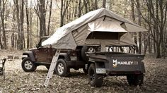 Buy the Manley ORV Explore trailer and the Wrangler Rubicon 10th Anniversary. What's old is new again.