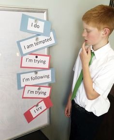 """Unscramble the """"I"""" phrases The song for August (see the Church's Sharing Time Outline here ) is """" I'm Trying to Be Like Jesus . Lds Primary Songs, Primary Singing Time, Primary Music, Lds Sunday School, Jesus Songs, Primary Chorister, Kids Church, Church Ideas, Im Trying"""