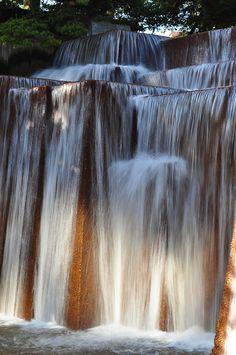 Ira Keller Forecourt Fountain, Portland, Oregon designed by landscape architect Lawrence Halprin