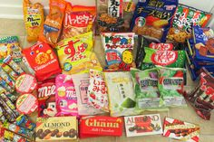 The snack department with crazy packaging if you need to do last minute shopping. Japanese Sweets and Snacks