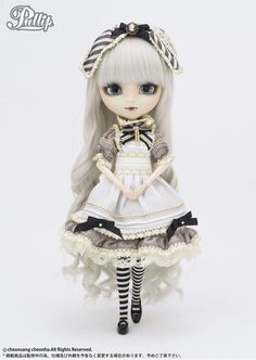 Groove pullip Classical Alice Sepia Pullip ver. P-129 fashion doll From Japan☆ #Groove