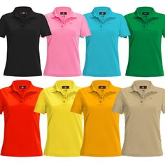 Back in stock and ready to rock! Ladies Loudmouth Golf polos   #golf4her