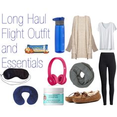 Long Haul Flight Outfit and Essentials