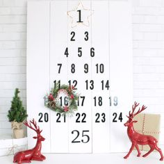 Take a break from the work week and make your own Advent calendar with these stylish takes on the traditional countdown calendar.