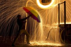 wire wool photography - Google Search