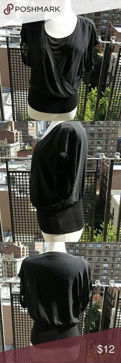 Elegant Black Blouse Staple Piece Elegant Black Blouse Staple Piece. Tops Blouses