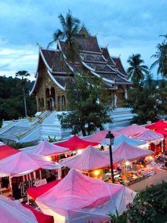Night Market - Luang Prabang, Laos - trouble for a shopaholic like me.