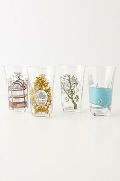 Looking for some super cute everyday glasses for those quick sips of water from the tap
