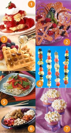 Fun recipes for the kids