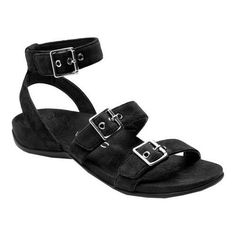 101ca9ea1828bf Vionic with Orthaheel Technology Women s Sahara Ankle-Strap Sandal