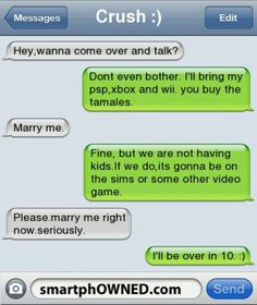 Iphone sms - marry me couple texts, funny texts, fail texts, funny jokes Funny Texts Jokes, Drunk Texts, Funny Texts Crush, Text Jokes, Funny Text Fails, Stupid Funny Memes, Funny Relatable Memes, Funny Quotes, Fail Texts