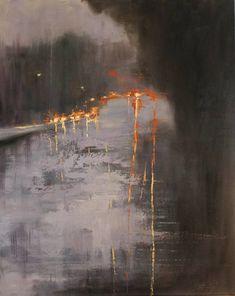 """Saatchi Art Artist Chin h Shin; Painting, """"On the Road"""" #art #abstractart"""