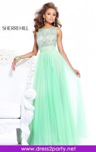 Gorgeous backless number and a dashing colour to combined within the design. Sherr Hill 11022