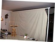 Make your own Backdrop stand  I have one like this but this is way better!