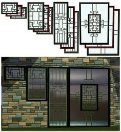 4 styles that come in 3 pre-set colors. Found in TSR Category 'Sims 3 Construction Sets' Sims 4 Windows, House Windows, Windows And Doors, Asian Windows, Break Wall, Chinese Theme, Sims 4 Clutter, Casas The Sims 4, Sims Games