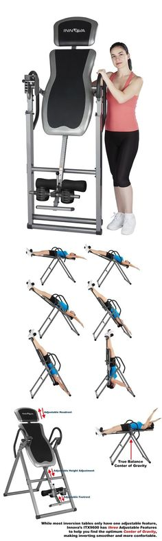 Inversion Tables 112954: Inversion Table Deluxe Heavy Duty Foldable Fitness Back Therapy Pain Reflexology -> BUY IT NOW ONLY: $117.34 on eBay!