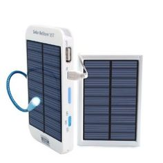 ReVIVE Series Solar ReStore BST - External Backup Battery Pack and Solar Panel with Doubled Charging Speed for Smartphones , Tablets , MP3 Players and more USB Powered Devices