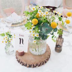 \ a.y.n.wedding /さんはInstagramを利用しています:「* ゲストテーブルとメインテーブル!! フラワーコーディネーターさんが披露宴会場を 写真に撮っていてくれました♡ 挙式が始まる前のメイクルームでこれを見た私は 一気にテンション上がってました♪♪ 何度も打ち合わせして迷惑をかけてしまいましたが、…」