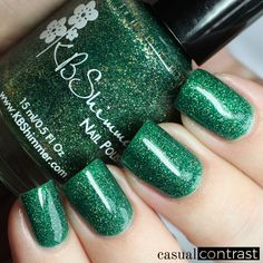 KBShimmer Winter 2016 Collection: Swatches & Review!