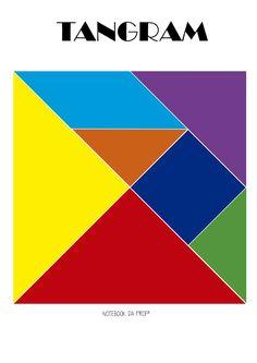 Tangram, Uso do tangram, História do tangram.