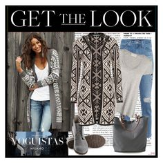 """Patterned Outerwear"" by lovee39 ❤ liked on Polyvore featuring AG Adriano Goldschmied, American Vintage, Independent Reign, Olsen and maurices"