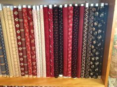 Our red, black and cream Scarlet Evening range -Magic Patch Quilting