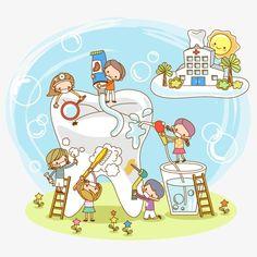 Limpa OS dentes saudáveis, Limpeza, OS Dentes, A Saúde Imagem PNG