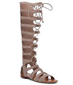 Vince Camuto Marcellin Ghillie Gladiator Sandals   Dillards
