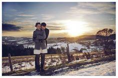 Photographe mariage/Mariage hiver/Mariage neige