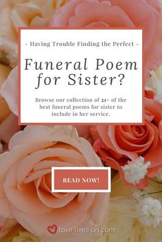 Find Best Funeral Poems for Sister to honour her life and legacy. Discover the perfect poem to express how much she meant to you. Losing A Sister Quotes, Poems For My Sister, Funeral Poems For Mom, Loss Of A Sister, Funeral Songs, Funeral Quotes, Mom Poems, Funeral Messages, Funeral Ideas