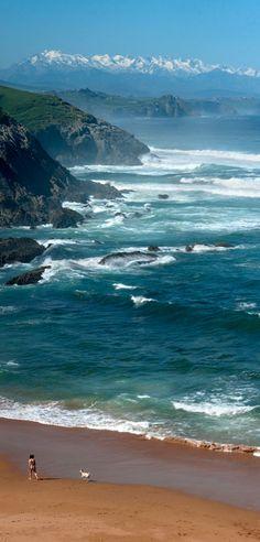Bahía de Bizkaia y Montañas Cantábricas, Cantabria, España | Latierruca on Twicsy