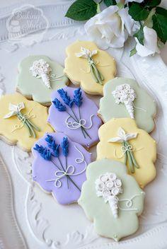 The Baking Sheet: Wedding Cookie Favors for DIY Weddings Magazine!
