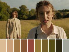 Movie Color Palette, Colour Pallette, Movie Titles, Movie Film, Cinema Colours, Color In Film, Movie Shots, Enola Holmes, Color Grading